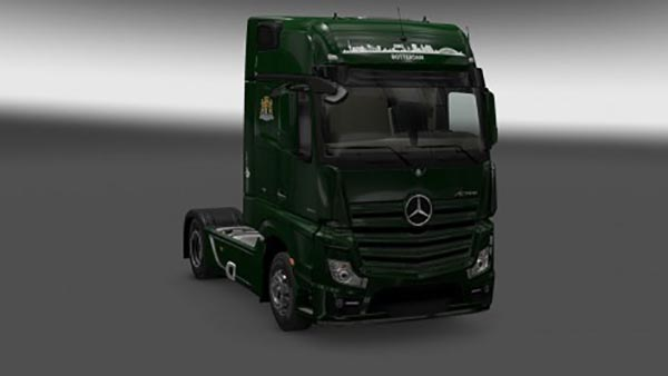 Mercedes Actros 2014 Gigaspace Rotterdam Themed Skin