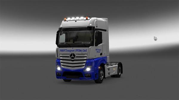 Mercedes Actros M&N Company