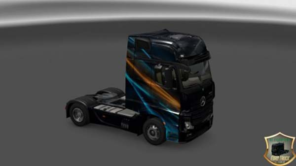 Mercedes Actros MP4 2014 Abstraction Skin