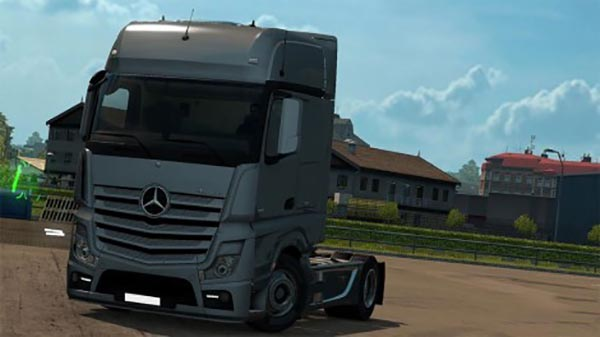 Mercedes Actros MP4 Lowdeck