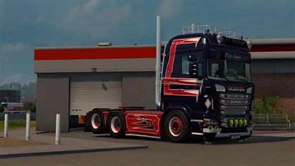 Patrick Heides Scania Highliner