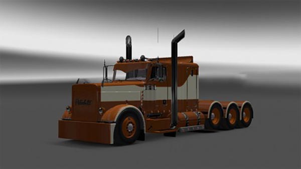 Peterbilt 389 Brown Beige