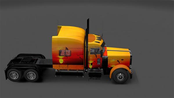 Peterbilt 389 Sunset Skin