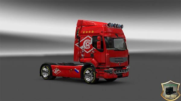 Renault Premium FC Spartak Moscow v1 Skin