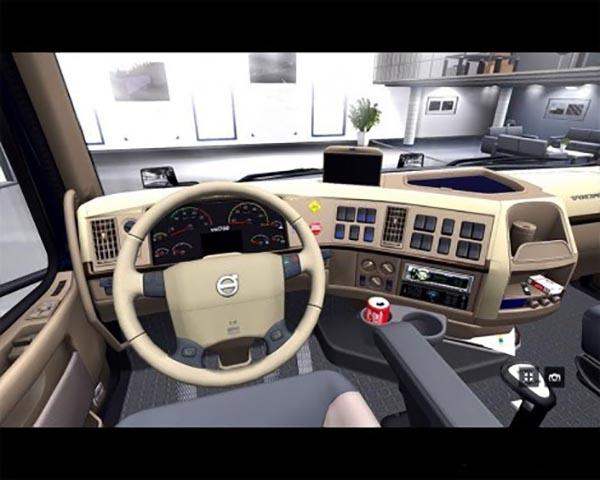 Retextured Interior Volvo Vnl64 T 780