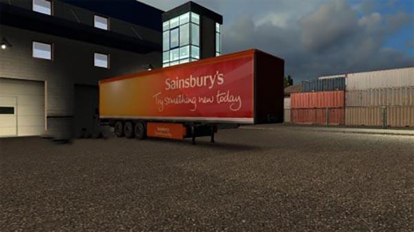 Sainsburys Trailer