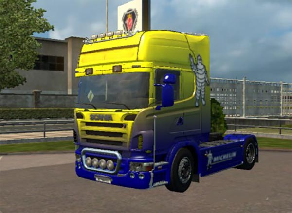 Scania 50k Michelin Skin