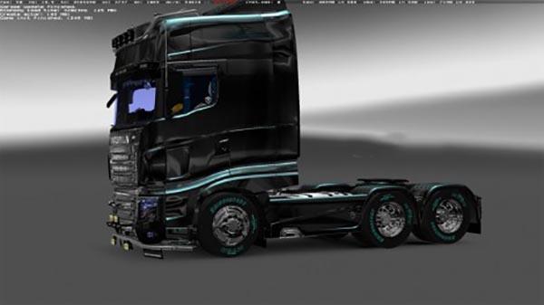 Scania Chrome Wheels Pack