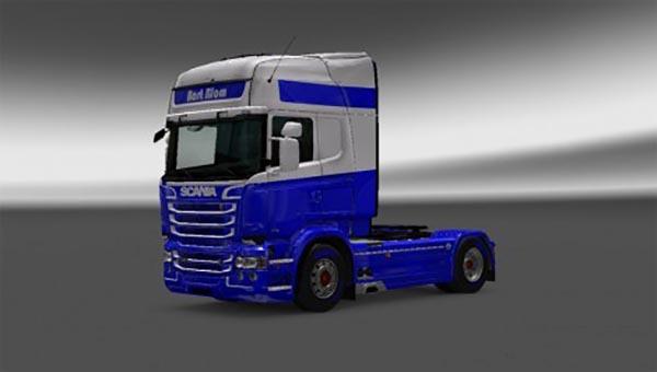 Scania RJL Bart Blom Transport Skin