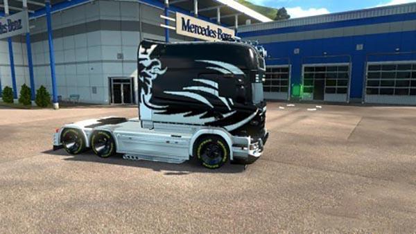 Scania RJL EXC Longline Stepan Huber Skin