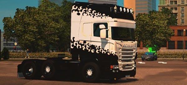 Scania RJL Holland Skin
