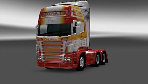 Scania RS RJL R500 McConaghy Skin