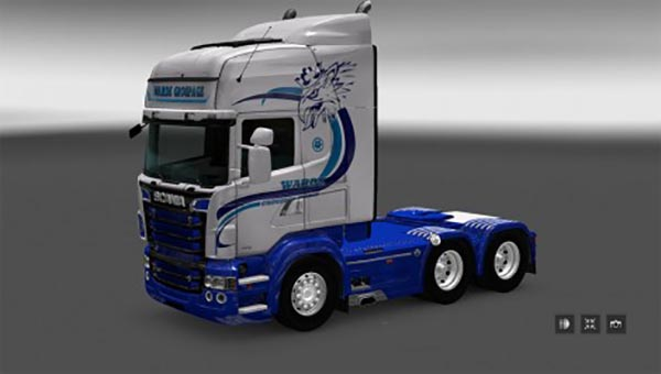 Scania RS RJL Warde Groupage Skin
