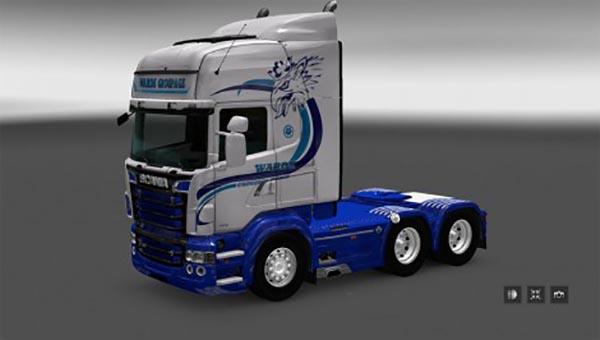 Scania RS RJL Warde Groupage Skin