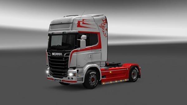 Scania Streamline Costom Painjob