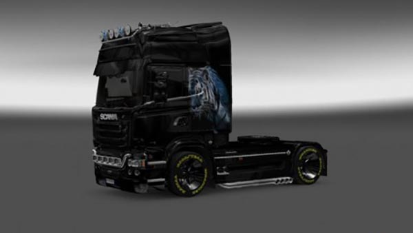 Scania Streamline Panther Skin
