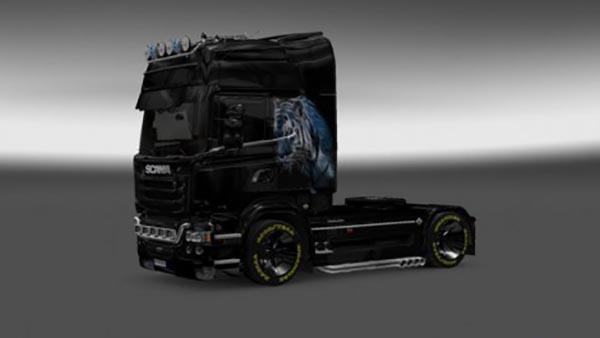 Scania Streamline Panther Skin