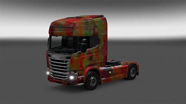 Scania Streamline abstract