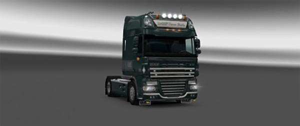 Skin DQF Flower Shuttle for DAF SSC 50K and SCS