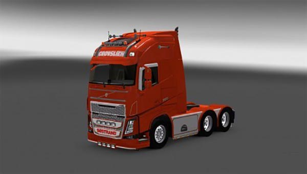 Skin Grovslien for Volvo FH 2013