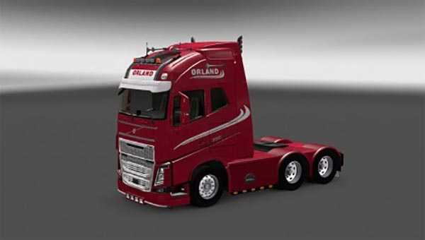 Skin Orlando Transport for Volvo FH 2013