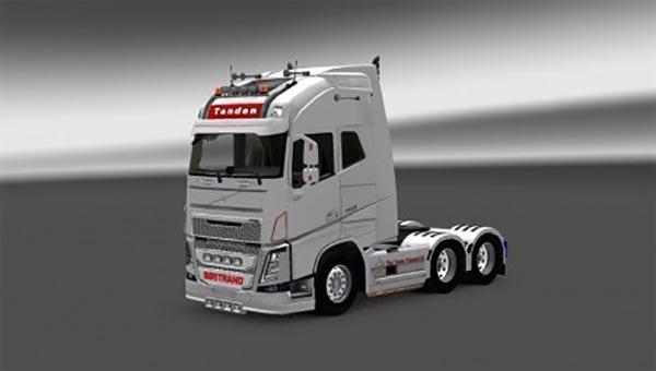 Skin Tenden Transport for Volvo FH 2013