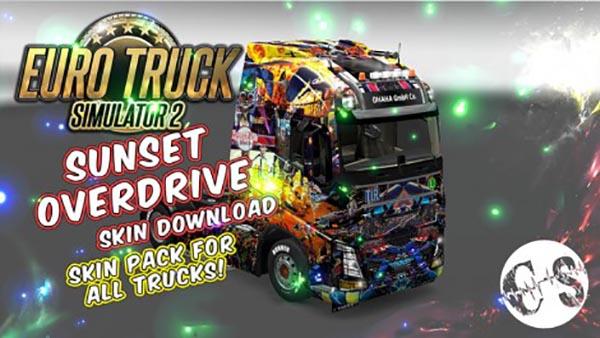 Sunset Overdrive Skin Pack for All Trucks
