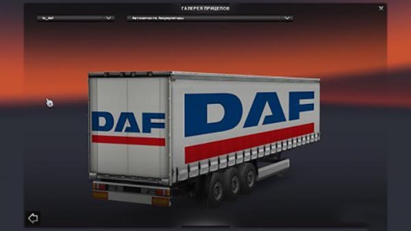 Truck Brand Trailers Pack
