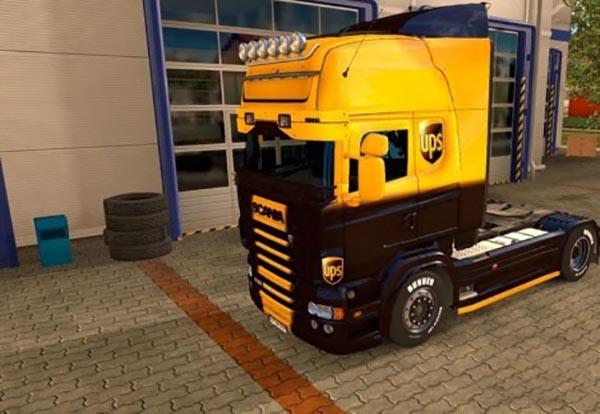 UPS skin for Scania RJL