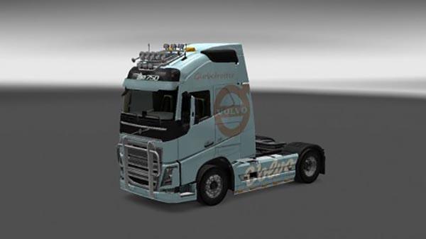 Volvo FH 2012 Blue Sky Skin