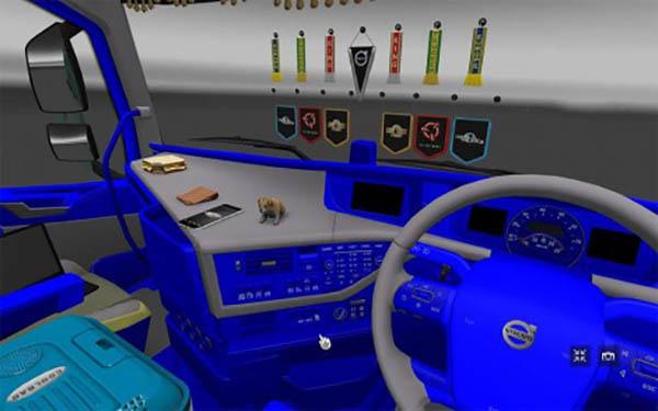Volvo fh grey interior