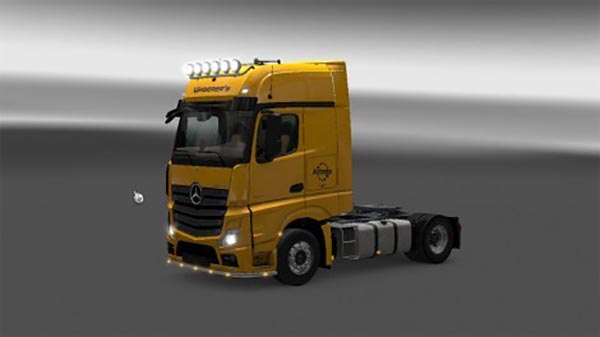 Waberers Mercedes Actros MP4