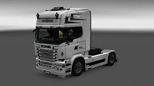 White Scania RS Skin