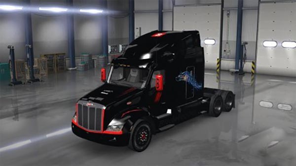 Bitdefender skin for Peterbilt 579