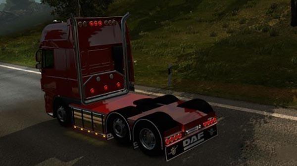 Chassis custom DAF 50Keda