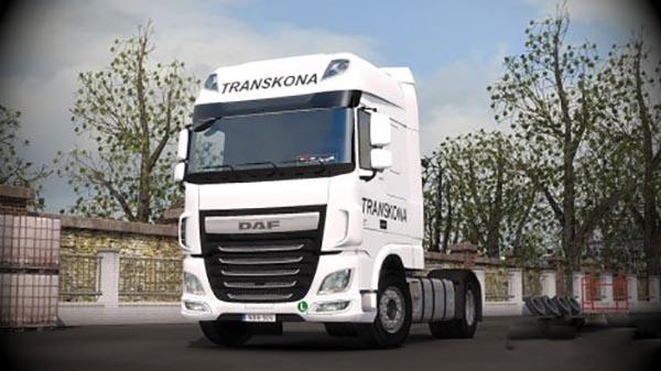 DAF XF Euro 6 Transkona Skin