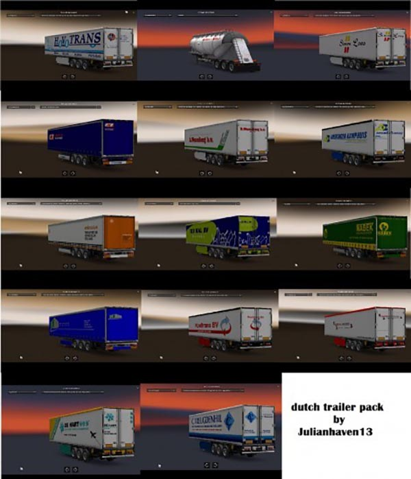 Dutch Trailers Pack