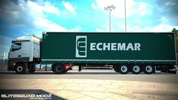 Echemar Mercedes-Benz Actros MPIV Combo skin pack