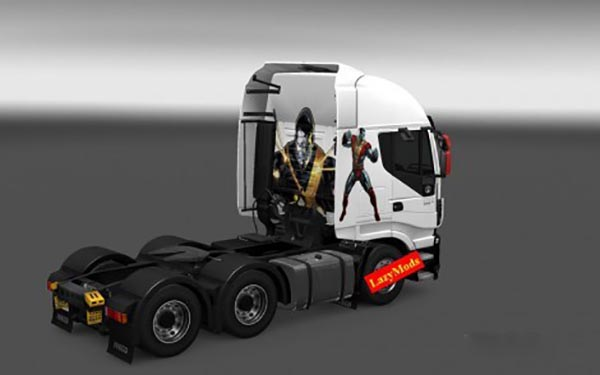 Favorite X Men Mutants Iveco Hi Way Skins Pack