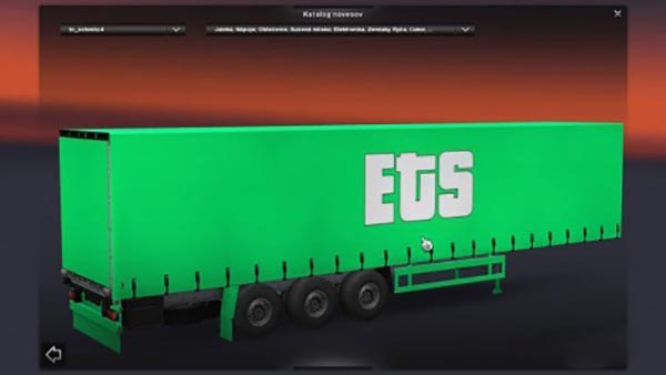 Green ETS Trailer
