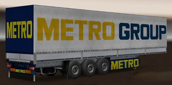 Hypermarkets Trailers Pack v 1.0