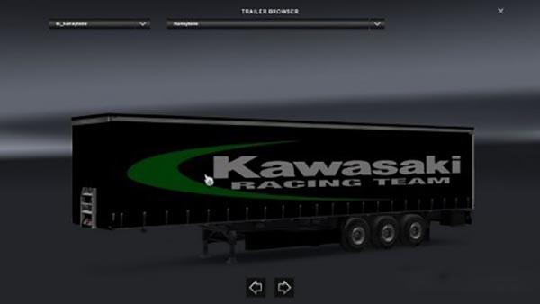 Kawasaki Trailer