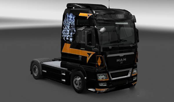 MAN French Trucker Skin