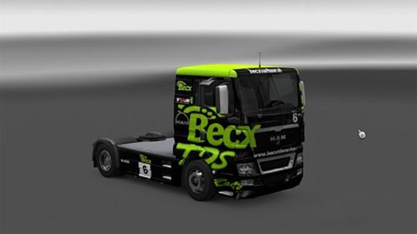 MAN TGA XL BECX Racing skin