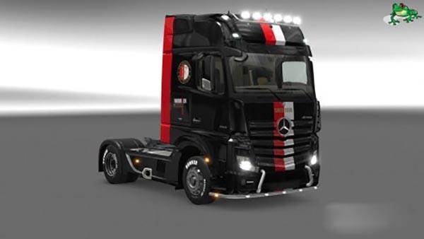 Mercedes Actros MP4 2014 Feyenoord Skin