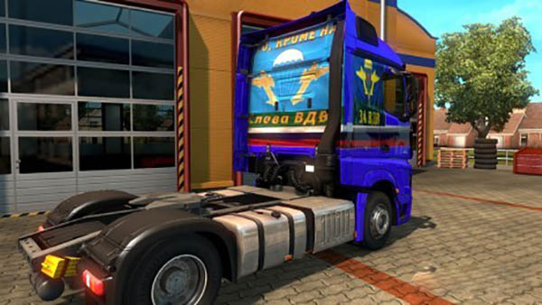 Mercedes Actros MP4 Desant Skin