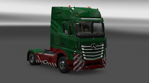 New Actros Plastic Parts and more v 3.1