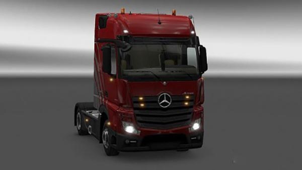 New Actros plastic parts and more 3.1.4