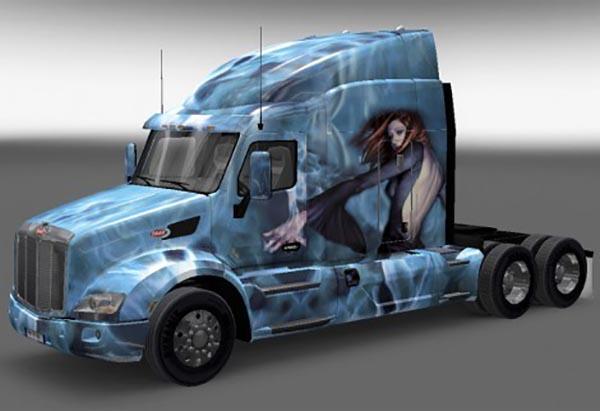 Peterbilt 579 Fantasy Skin