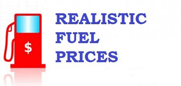 Realistic Fuel Prices 05 March 2016